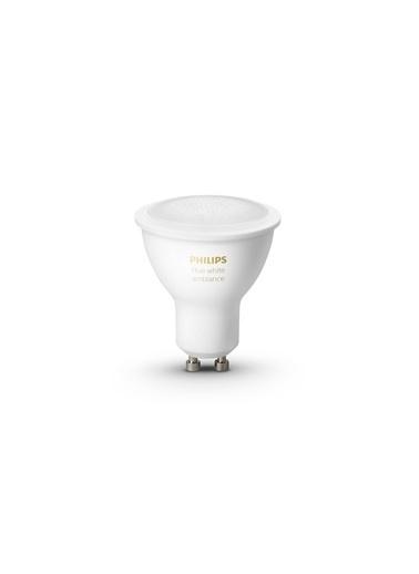 Philips Hue Beyaz Ambiyans GU10 Duylu 2li Bluetooth Akıllı Spot Ampul Ekopaketi Beyaz
